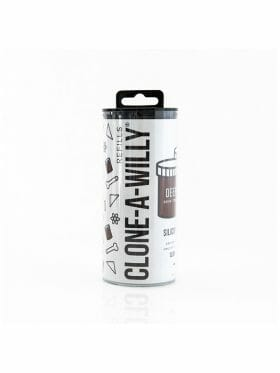 CLONE-A-WILLY DEEP SKIN TONE SILICONE REFILL
