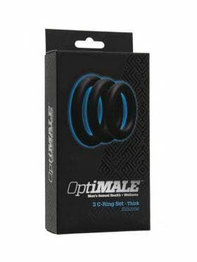 DOC JOHNSON OPTIMALE SET OF 3 THICK COCK RINGS