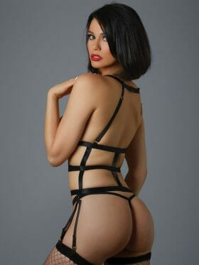 ALLURE ONE NIGHT STAND CORSELETTE AND G-STRING