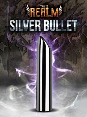 BLUSH THE REALM SILVER BULLET RECHARGEABLE VIBRATOR